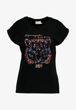 CRISTY - T-shirts print - black deep