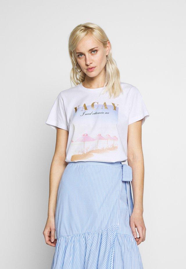 KAVARNY - T-shirts print - optical white