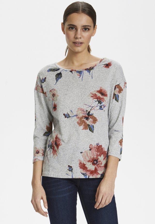 SIFFI - Sweter - light grey melange