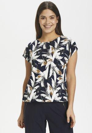 KAHELI - T-shirt con stampa - midnight marine