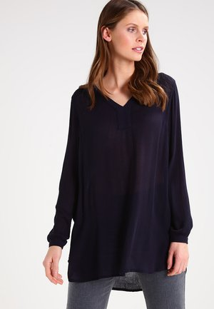 AMBER V NECK  - Blouse - midnight marine