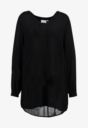 AMBER V NECK  - Blouse - black deep