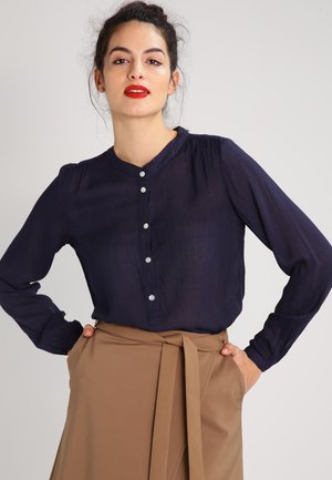 KARLA AMBER SHIRT LS - Blouse - midnight marine