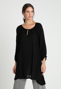 Kaffe - AMBER - Tunic - black deep - 0