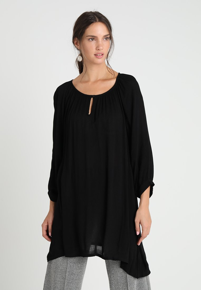 Kaffe - AMBER - Tunic - black deep