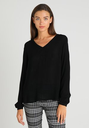 AMBER BLOUSE - Tunique - black