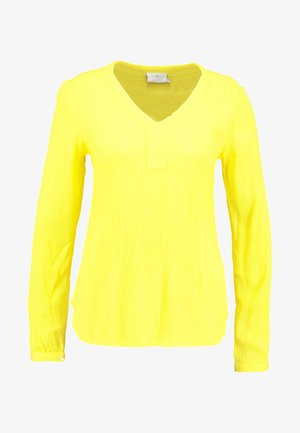 AMBER BLOUSE - Bluser - cyber yellow