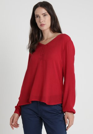 AMBER BLOUSE - Blouse - haute red