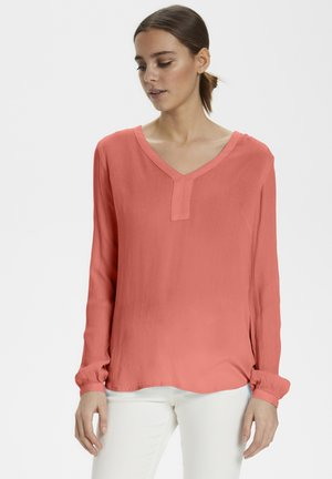 AMBER BLOUSE - Blusa - living coral
