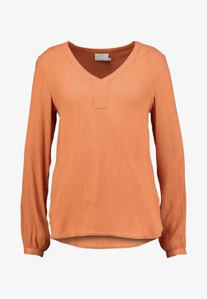 AMBER BLOUSE - Bluser - dull orange