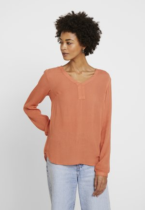 AMBER BLOUSE - Blus - dull orange
