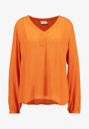 AMBER BLOUSE - Tunika - burnt orange