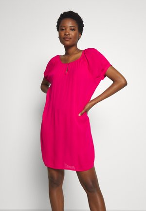 AMBER - Korte jurk - bright rose