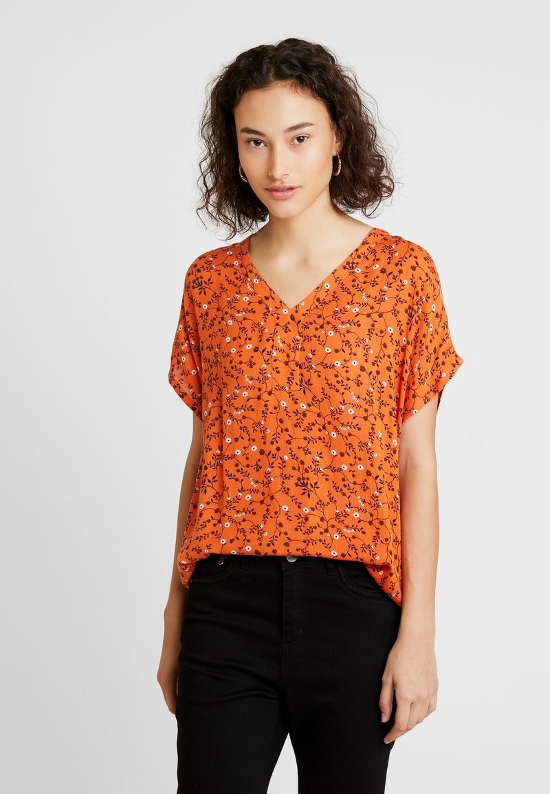 Kaffe - DITSY AMBER BLOUSE - Blusa - burnt orange