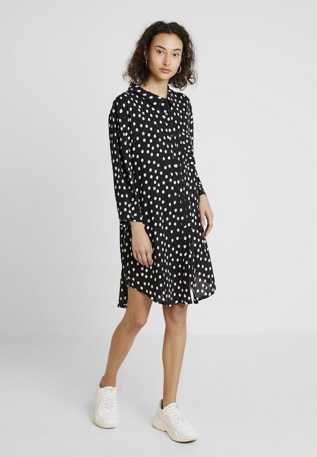VIVIAN DOT  - Shirt dress - black deep