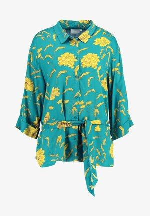 KALUANA - Button-down blouse - tidepool