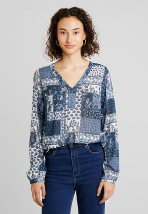 KAHULA AMBER BLOUSE - Bluzka - midnight navy