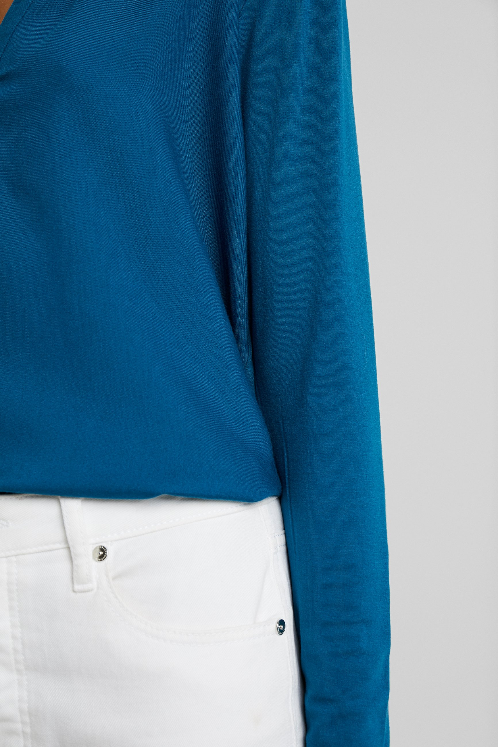 Kaffe KACALINA BLOUSE - Blouse moroccan blue
