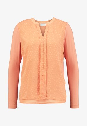 SOLVEIG BLOUSE - Bluser - dull orange