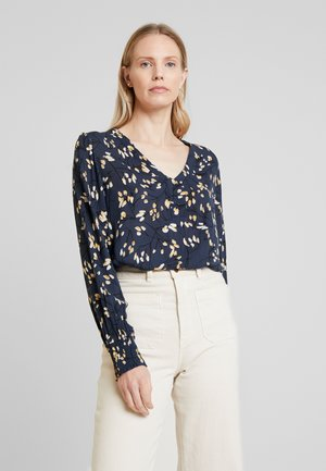 SALMA AMBER BLOUSE - Blůza - midnight navy
