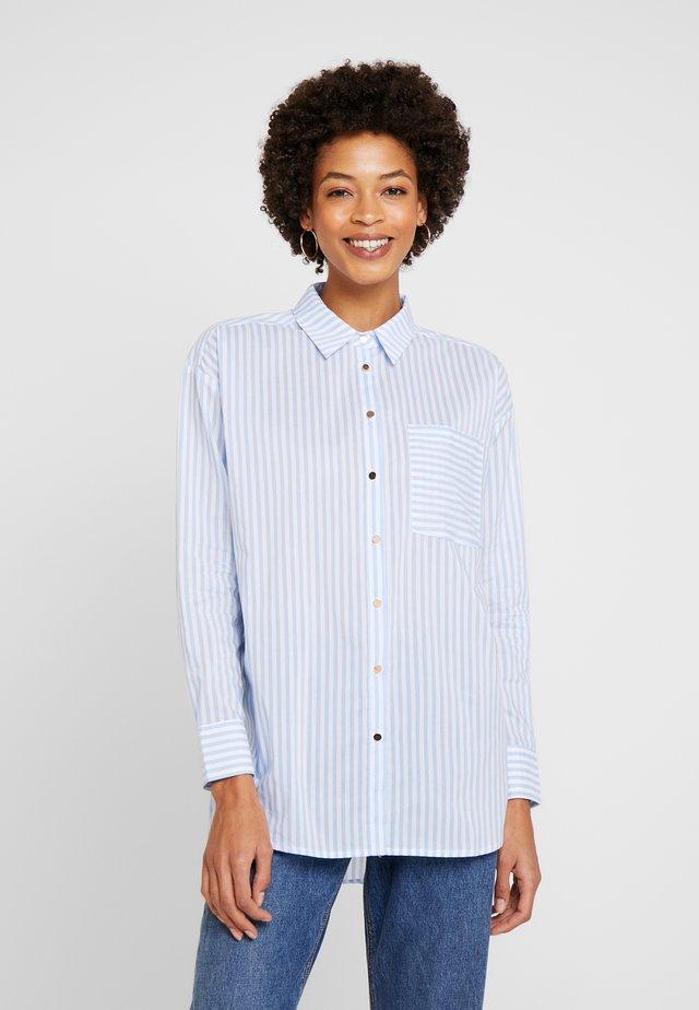 KAAMARA - Button-down blouse - blue