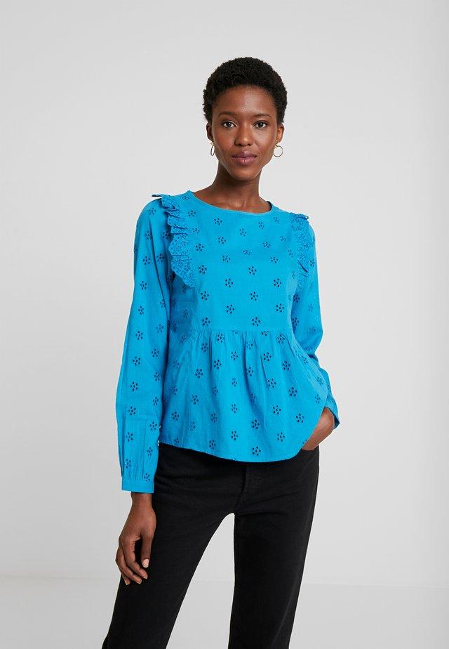 KAFLARY BLOUSE - Bluse - mosaic blue