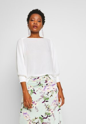 SOLANA BAT SLEEVE BLOUSE - Bluser - chalk