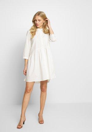 KADALE TUNIC SHIRT - Sukienka koszulowa - optical white