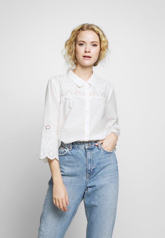 KALISA - Button-down blouse - chalk