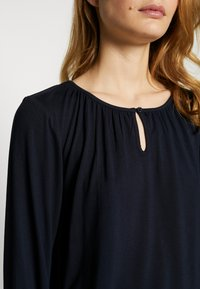 Kaffe - KACECILLA BLOUSE - Long sleeved top - midnight marine - 4