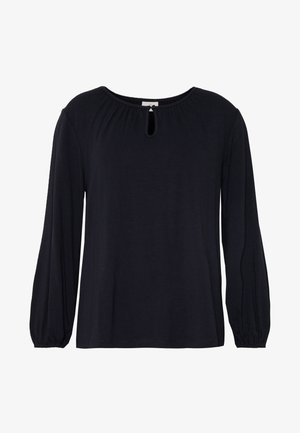 KACECILLA BLOUSE - Long sleeved top - midnight marine