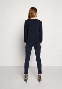 Kaffe - KACECILLA BLOUSE - Long sleeved top - midnight marine - 2