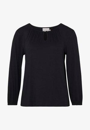 KACECILLA BLOUSE - Langærmede T-shirts - black deep