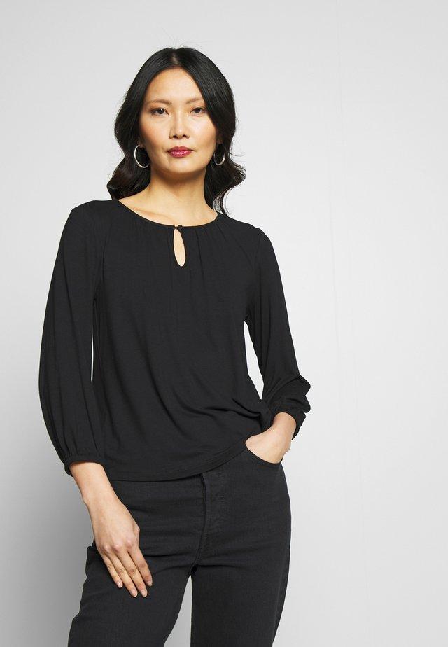 KACECILLA BLOUSE - T-shirt à manches longues - black deep