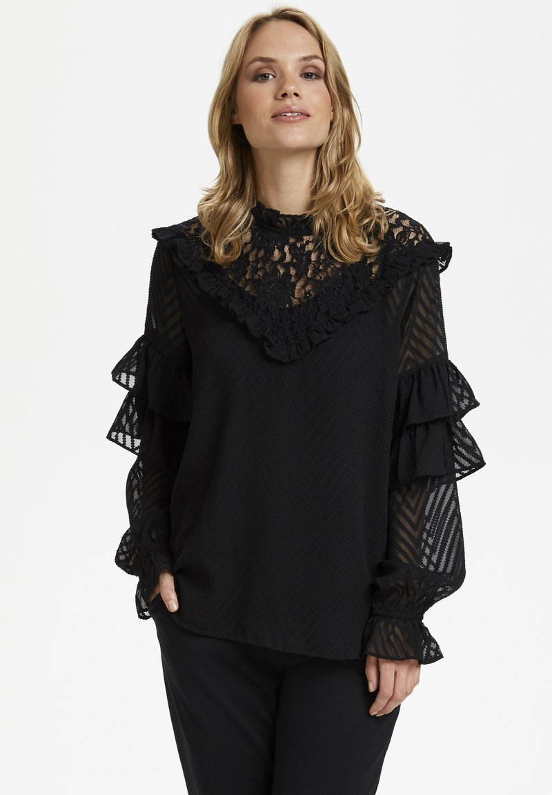 Kaffe - KALAUREN  - Blouse - black deep