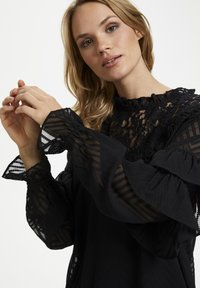 Kaffe - KALAUREN  - Blouse - black deep - 4