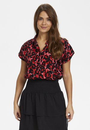 KALEONDRA SHIRT - Camisa - red