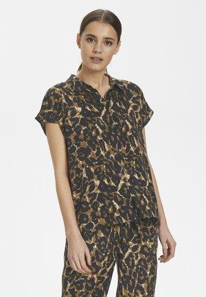 KALEONDRA SHIRT - Button-down blouse - brown