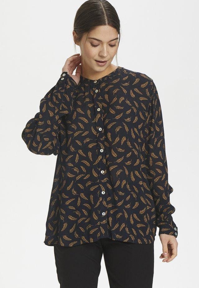 KAFELINE - Button-down blouse - midnight marine