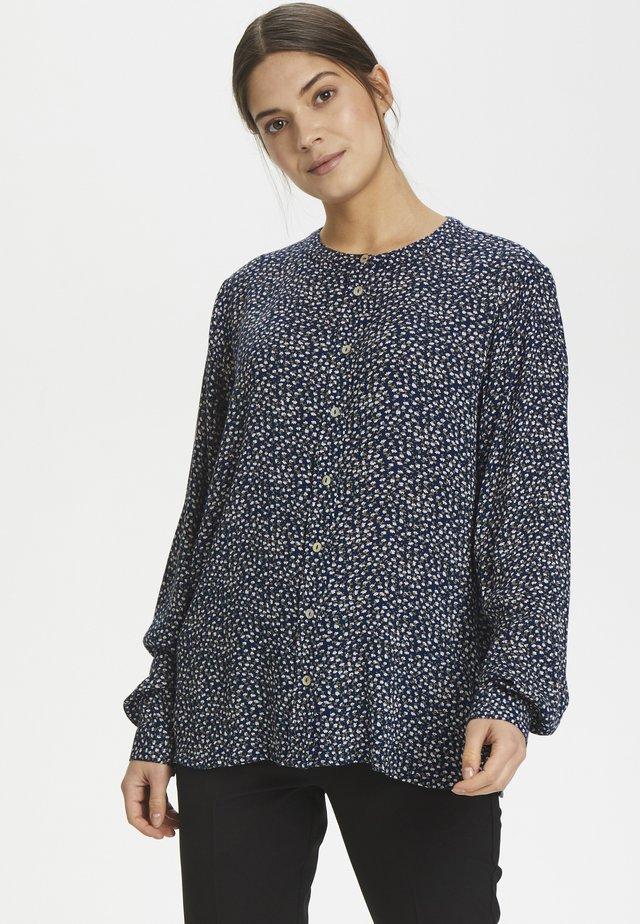 KAFLORINE  - Button-down blouse - midnight marine