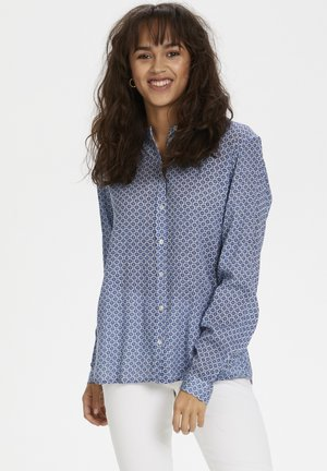 KAFFE KAMARTINE PPP SHIRT - Camicetta - blue - tiny flowers