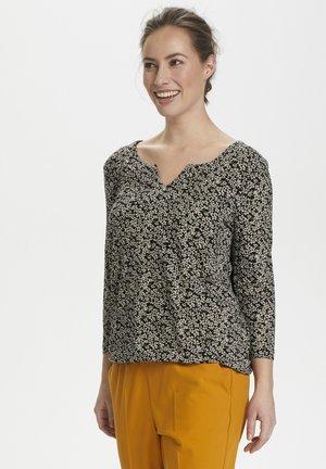 KAMOLLY  - Maglietta a manica lunga - black tapioca flower
