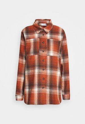 KASORENA CHECKED - Button-down blouse - sierra