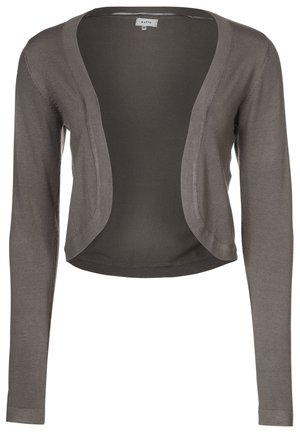 ASTRID BOLERO - Strickjacke - mud