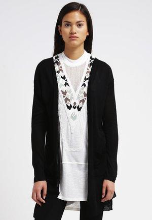 SANDRA CARDIGAN - Vest - black