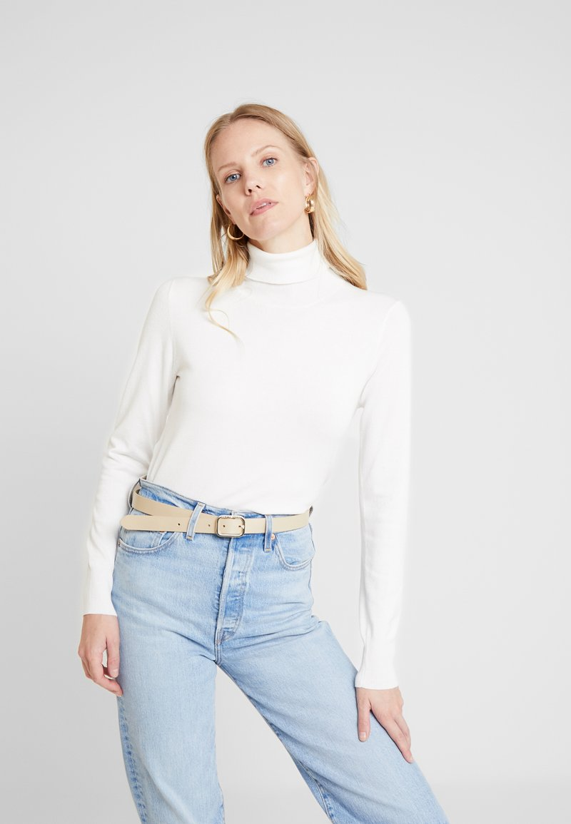 Kaffe - ASTRID ROLL NECK - Jumper - chalk