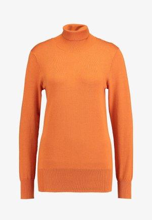 ASTRID ROLL NECK - Jersey de punto - burnt orange