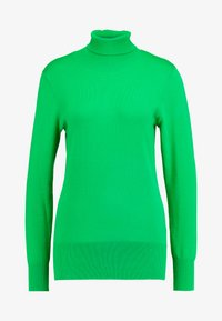 Kaffe - ASTRID ROLL NECK - Strikkegenser - fern green