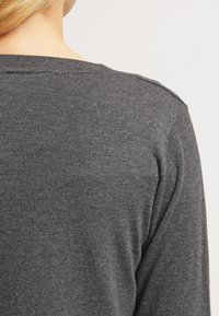 Kaffe - ASTRID BOLERO - Vest - dark grey melange - 5