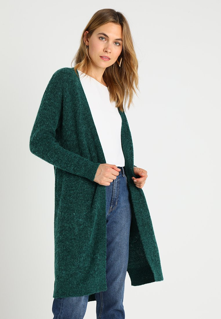 Kaffe - WENCHE CARDIGAN - Vest - rain forest